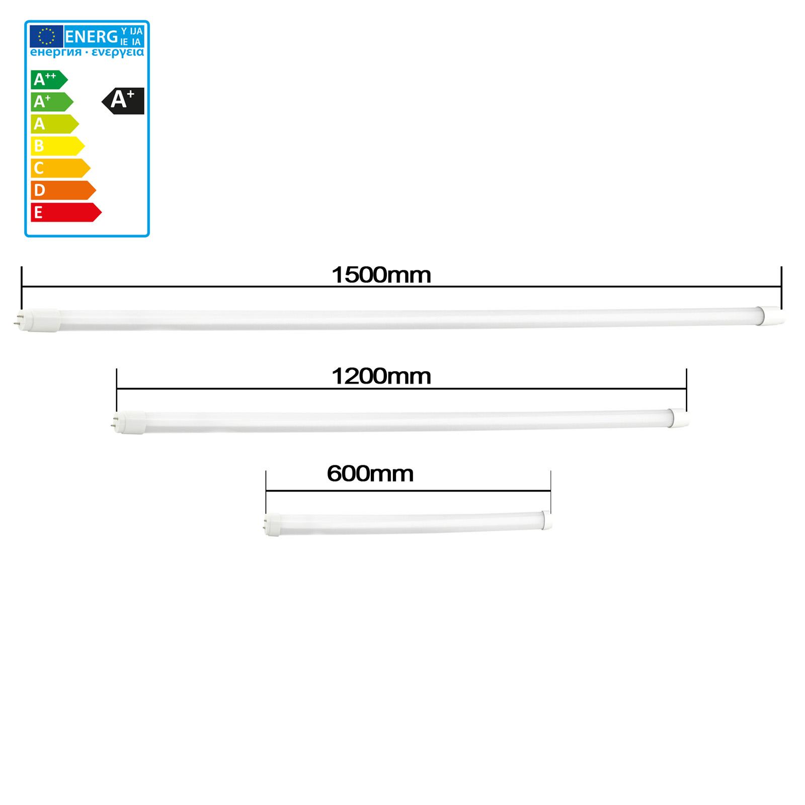 24W LED Röhre T8 G13 60//120//150cm Leuchtstoffröhre Tube Neonröhre Leuchte 10W